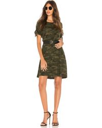 Sanctuary - Ojai Camo T Shirt Dress - Lyst