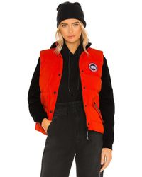 Canada Goose Freestyle Weste - Rot