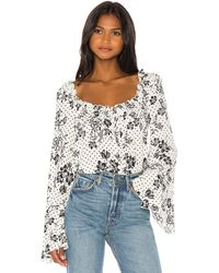 Free People - One On One Date ボディスーツ - Lyst