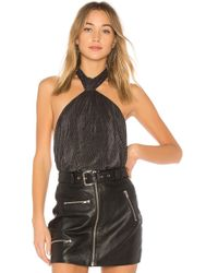 StyleStalker - Lucian Halter Bodysuit - Lyst