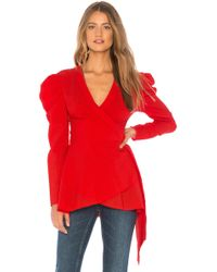 C/meo Collective - Advance Top In Red - Lyst