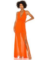 Nbd Victoria Gown - Orange