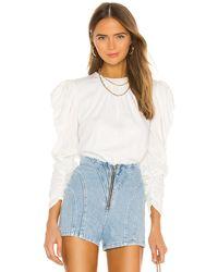 Keepsake Wistful Long Sleeve Top - White