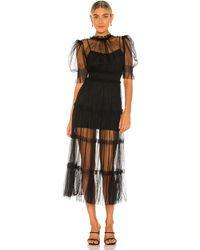 Alice McCALL Платье Nova В Цвете Черный