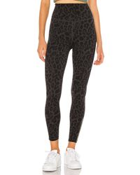 LNA - LEGGINGS LEOPARD ZIPPER - Lyst