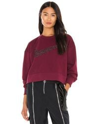 Nike Get Fit Sparkle Sweater - Rot