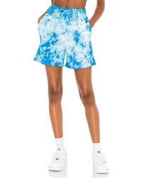 Frankie's Bikinis Burl スウェットショートパンツ - ブルー