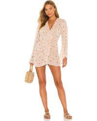 Camila Coelho Isabella Kimono Wrap Dress - Natural