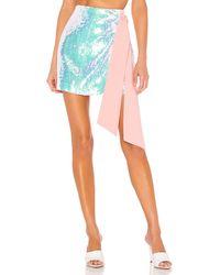 Nbd Loretta Mini Skirt - Pink