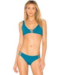L*Space - L* Monroe Bikini Top In Blue - Lyst