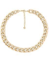BaubleBar Ожерелье Michaela В Цвете Золотой - Металлик