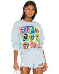 MadeWorn Rolling Stones Tシャツ - ブルー