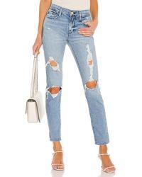 FRAME - Jeans rectos garcon - Lyst