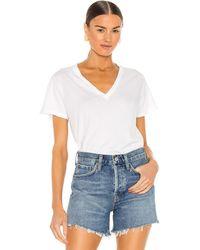 Agolde Thea Tシャツ - ホワイト