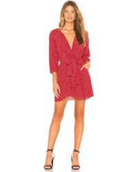 Free People - Clara Dress In Red - Lyst