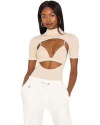 h:ours Zayah Bodysuit - Natural