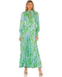 Alice McCALL Платье Mexicola В Цвете Папоротник - Зеленый