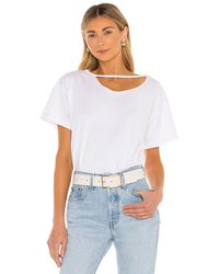 Lovers + Friends Owens Oversized Shirt - White
