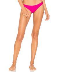 Mikoh Swimwear - Lahaina Bikini Bottom In Pink - Lyst