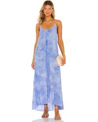 9seed Tulum Maxi Dress - Blau