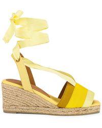 Castaner Сандалии Delia В Цвете Amarillo Multicolor - Желтый