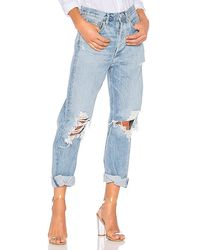 Agolde 90s Mid Rise Loose Fit - Blue