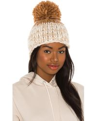 Free People - Cozy Up Color Block Pom ビーニー - Lyst