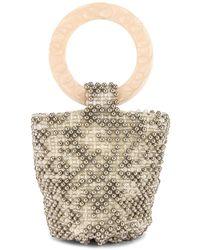 Cleobella Tanner Party Bag - Metallic