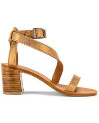 K. Jacques Seraphine Heeled Sandal - Metallic