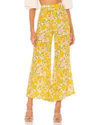 Faithfull The Brand Marise Pants - Gelb