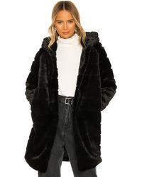 Apparis Куртка Celina В Цвете Noir - Черный