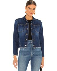 L'Agence Janelle Slim Jacket. Size S. - Blau