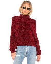 Free People - Velvet Dreams Pullover Sweater - Lyst