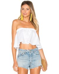 Faithfull The Brand Suns Out Top - White
