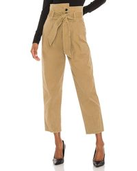 Marissa Webb Piper Peg Legged Vintage Washed Pant - Green