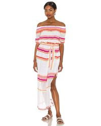 lemlem Qelem Maxi Dress - Pink