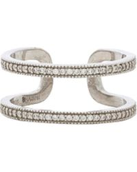 Shashi - Kaylee Ring In Metallic Silver. - Lyst