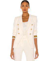 Veronica Beard Timber Dickey Jacket - White