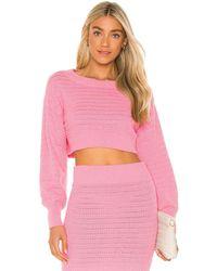MAJORELLE Rhea Sweater - Pink