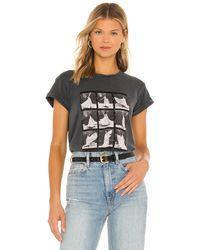 AllSaints Liva Anna グラフィックtシャツ - ブラック