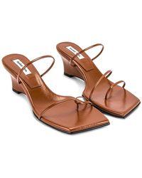 Reike Nen Odd Pair Wedge Heels - Brown