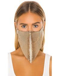 GRLFRND Gesichtsmaske - Mettallic