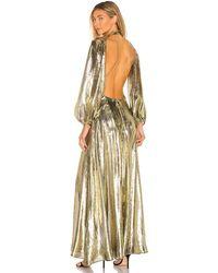 Cult Gaia Hera Gown - Mettallic