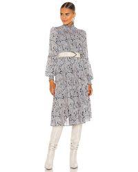 Cinq À Sept Long Rika Dress - Blue
