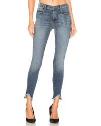 FRAME Le High Skinny Triangle. - Size 23 (also - Blue