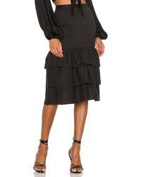 MAJORELLE Bonita Skirt - Black