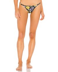 Tori Praver Swimwear Blake Skimpy Bikini Bottom - Black