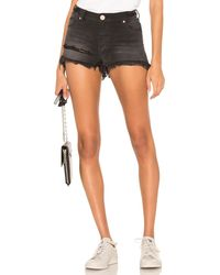 One Teaspoon Bonita High Waist Short. Size 23. - Mehrfarbig