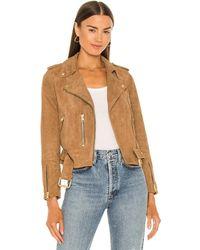 AllSaints - Куртка Suede В Цвете Песочно-коричневый - Lyst