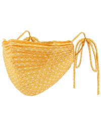 Significant Other Pleat Mask - Yellow